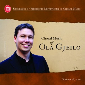 Gjeilo Cover